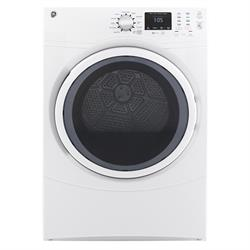GE 7.5CU FRONT LOAD ELECTRIC DRYER GFD43ESSMWW Image